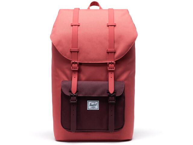 Herschel Little America Backpack mineral red/plum